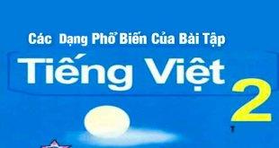 Bài Tập Tiếng Việt Lớp 2