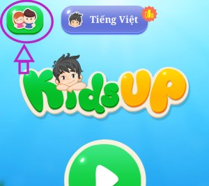 Hướng dẫn kích hoạt Kidsup Up - Bước 1