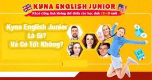 Kyna English Junior Là Gì? Và Có Tốt Không?