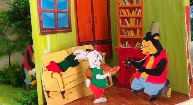 Tranh Truyện Thỏ Ngoan