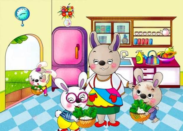 Tranh truyện cây rau của thỏ út số 2