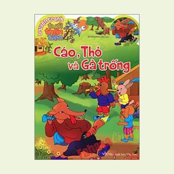 sách về truyện cáo thỏ và gà trống