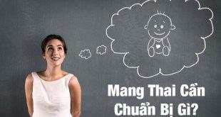 Chuẩn Bị Mang Thai - Những Thứ Mà Cả Vợ Và Chồng Phải Biết