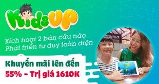 KidsUp Khuyến Mãi Lên Tới 55% Chỉ Trong Hôm Nay
