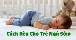 Cách rèn cho trẻ ngủ sớm