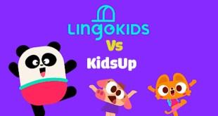 So sánh KidsUp và Lingokids