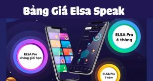 Bảng Giá Elsa Speak Chi Tiết 4 Gói Học Cùng Khuyến Mãi Siêu Hấp Dẫn