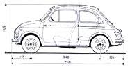 FIAT NUOVA 500: SCHEDA 500 D