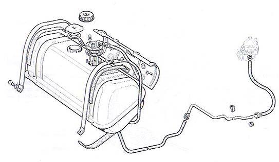 FIAT NUOVA 500: TECNICA (carburazione)