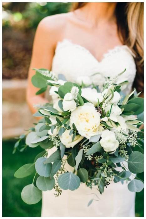 Nuanta nunta -buchet verde