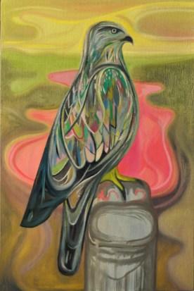 Bruno Marrapodi, Dolores, 2013, tecnica mista su tavola, 30 x 20 cm