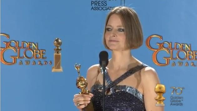 Jodie Foster, premio Cecil B. De Mille alla carriera