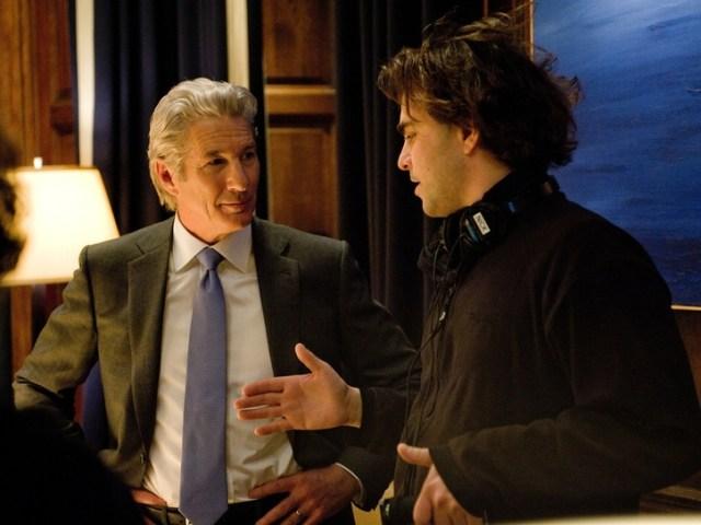 Richard Gere sul set con il regista Nicholas Jarecki