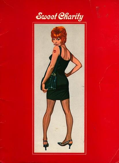 Sweet Charity original film souvenir programme - www.ShopCurious.com