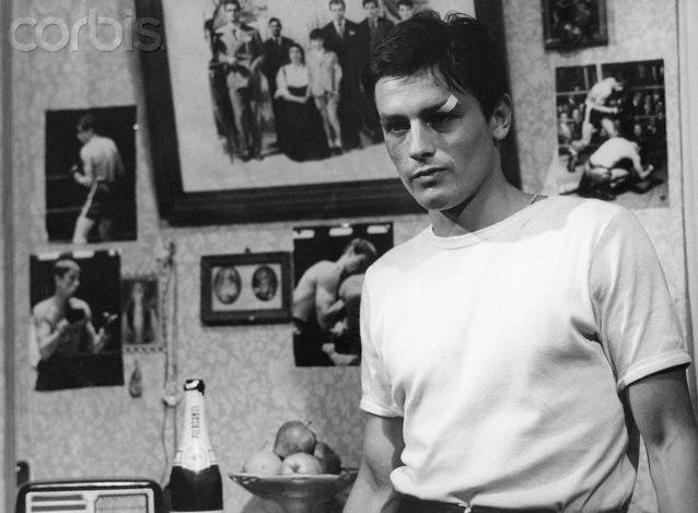 Alain Delon in 'Rocco e i suoi fratelli'