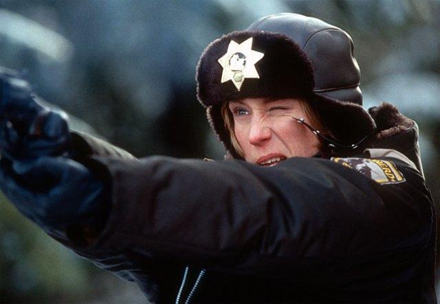 Frances McDormand in 'Fargo' dei fratelli Coen