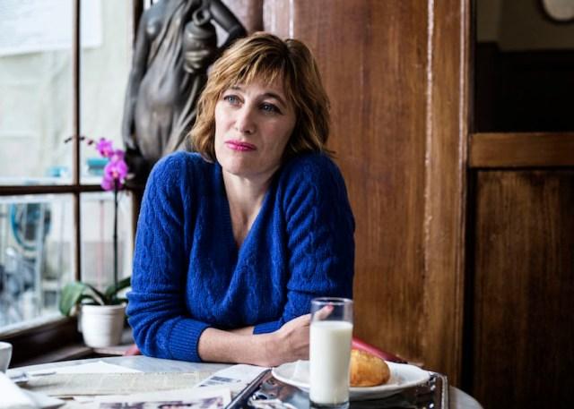 """Valeria Bruni Tedeschi in una scena del film """"La Buca"""", regia di Daniele Ciprì Roma-Svizzera 2013-2014"""