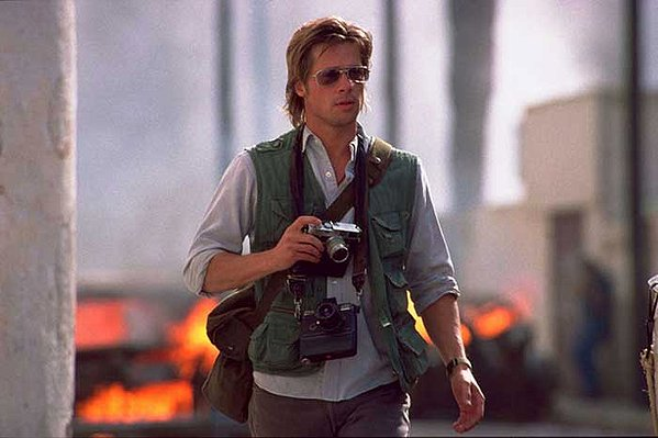 Brad Pitt in 'Spy Game'