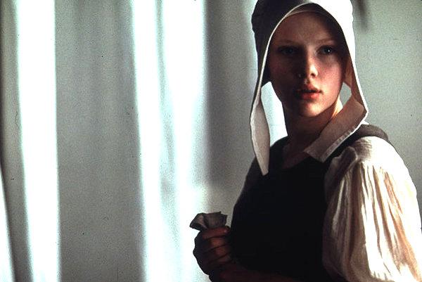 Scarlett Johansson è 'La ragzza con l'orecchino di perla'