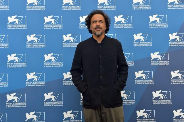 Iñarritu a Venezia per la prima di Birdman. Foto BiennaleCinema