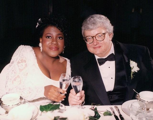 Ebert con la moglie Chaz