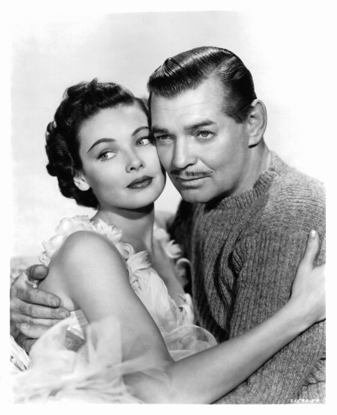 Gene Tierney And Clark Gable In 'Never Let Me Go'