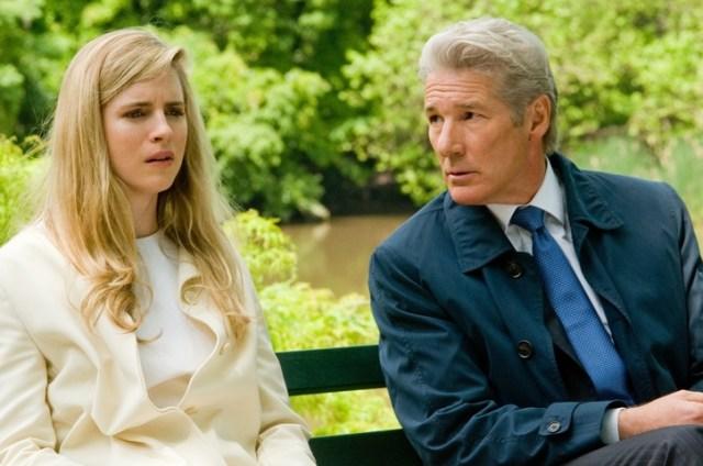 Richard Gere e Britt Marling in 'La frode'