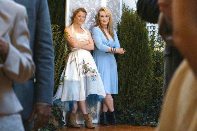 Meryl Streep nel film con la figlia Mamie Gummer