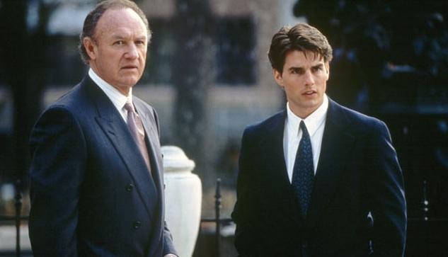 'Il socio' con Tom Cruise e Gene Hackman