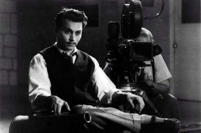 Ed Wood 1994 Réal. : Tim Burton Johnny Depp COLLECTION CHRISTOPHEL