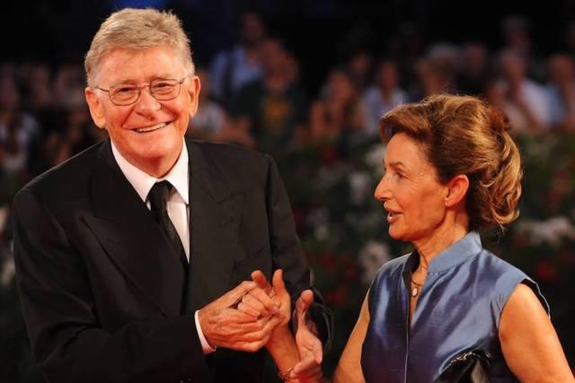 Ermanno Olmi con la moglie Loredana - foto dalla pagina Facebook di 'E venne l'uomo - Incontro con Ermanno Olmi'