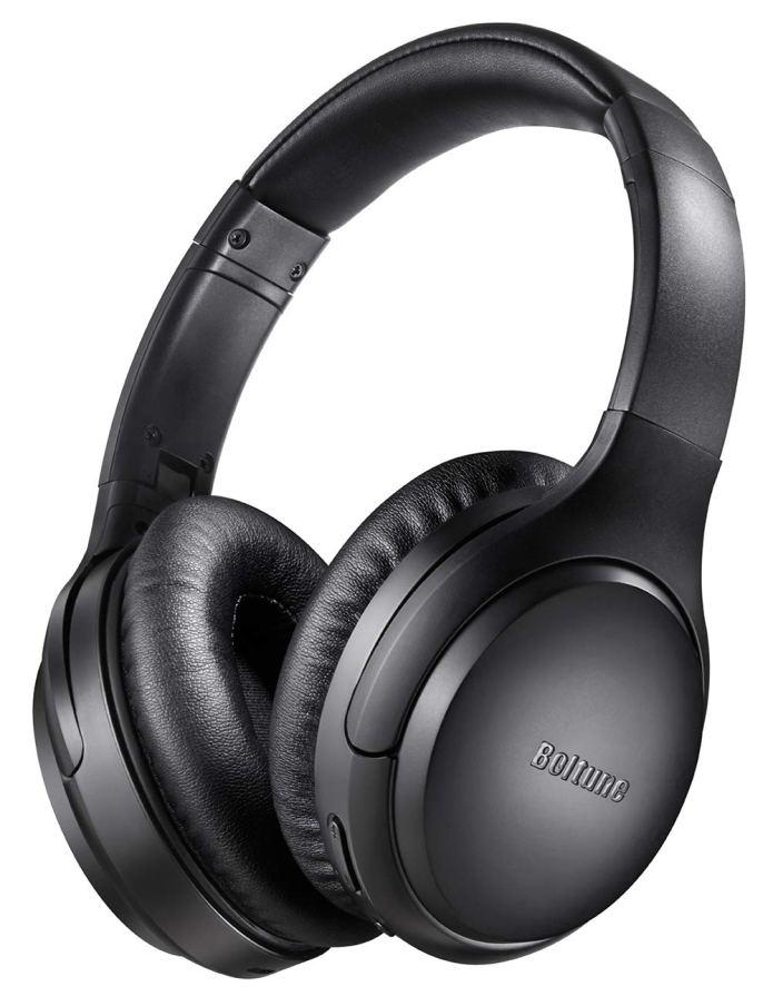 Boltune Bluetooth 5.0 Over-Ear Wireless Headphones with Mic Deep Bass