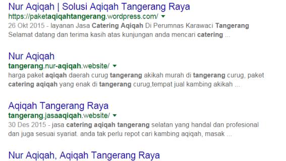Pesan Paket Catering Aqiqah Di Tangerang