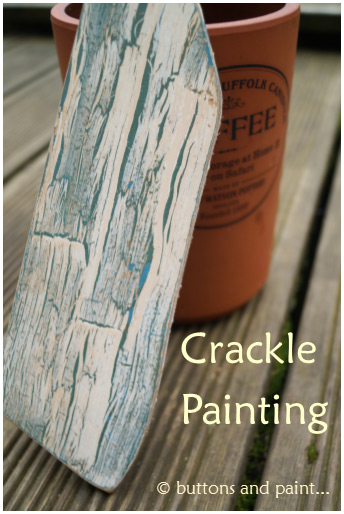 Crackle-Painting