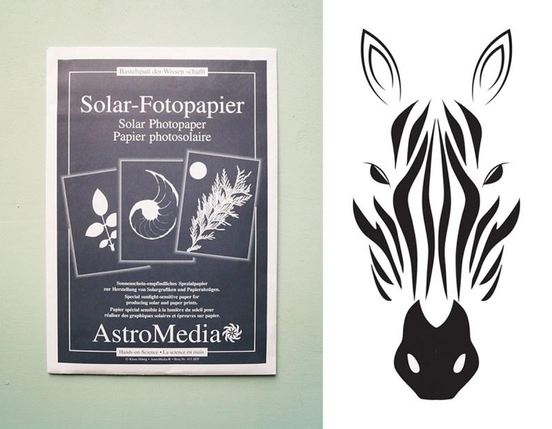 Kunst mit Solar-Fotopapier by Nur noch 4