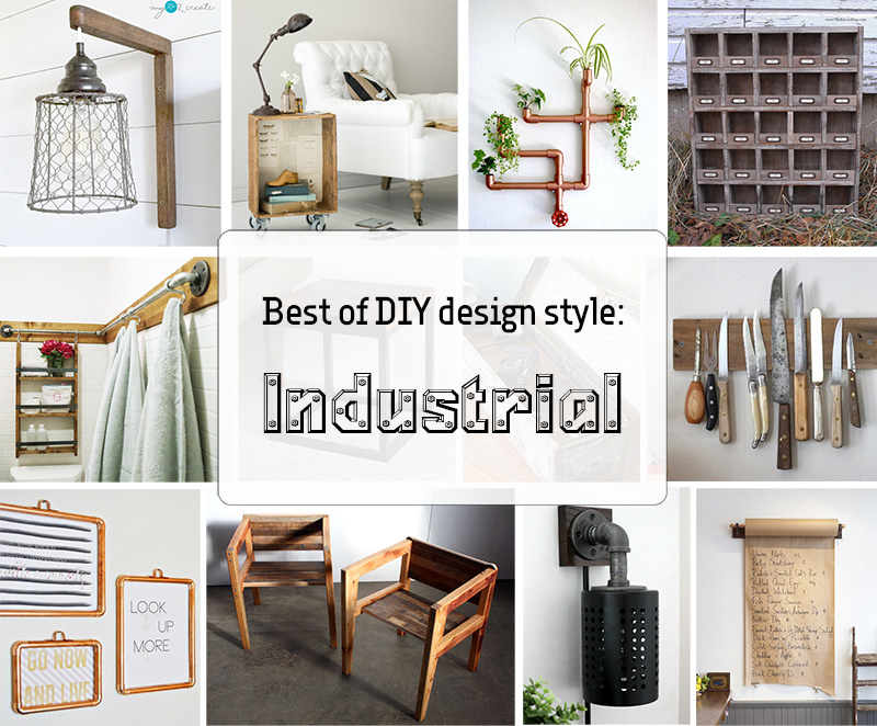 best of diy design style industrial nur noch. Black Bedroom Furniture Sets. Home Design Ideas
