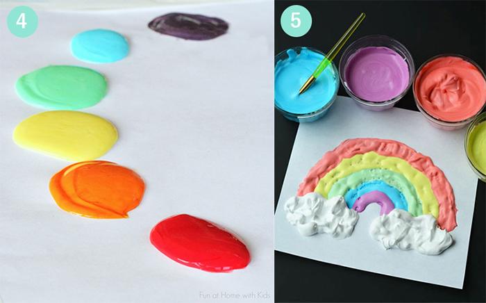 Kinderfarbe-und-puffy-paint