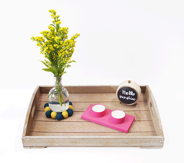 Untersetzer aus Filz für Vasen2