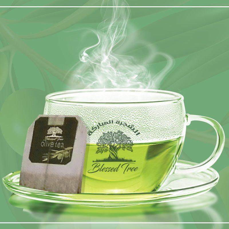 فوائد شاي ورق الزيتون