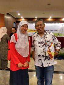 Bersama pembimbing Pak Triyanto Triwikromo