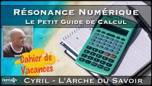 cyril resonance numerique guide de calcul
