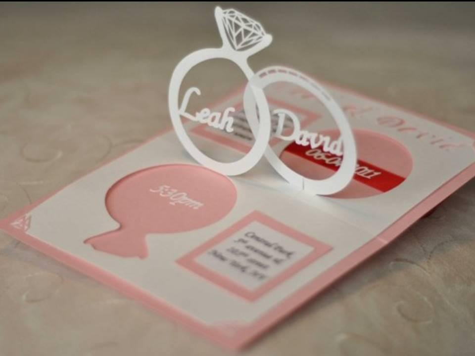 Contoh Undangan Pernikahan Pop Up