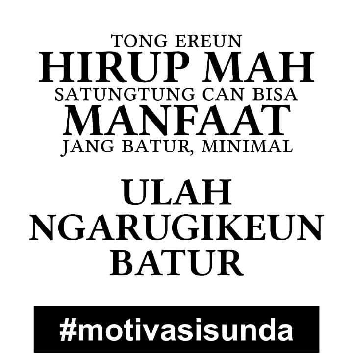 135 Inspirasi Kata Kata Bahasa Sunda Lucu Sedih