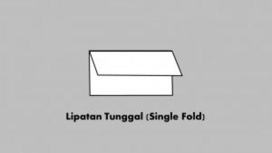 Lipatan Tunggal (Single Fold)