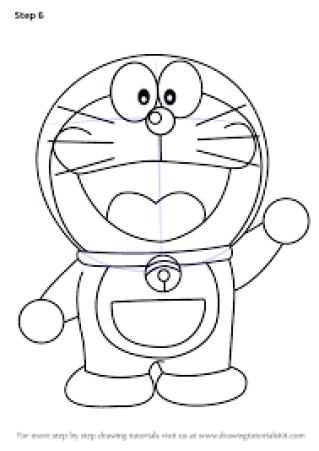 Sketsa Doraemon