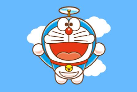 Gambar Doraemon Terbang