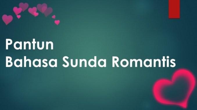 Pantun Bahasa Sunda Romantis