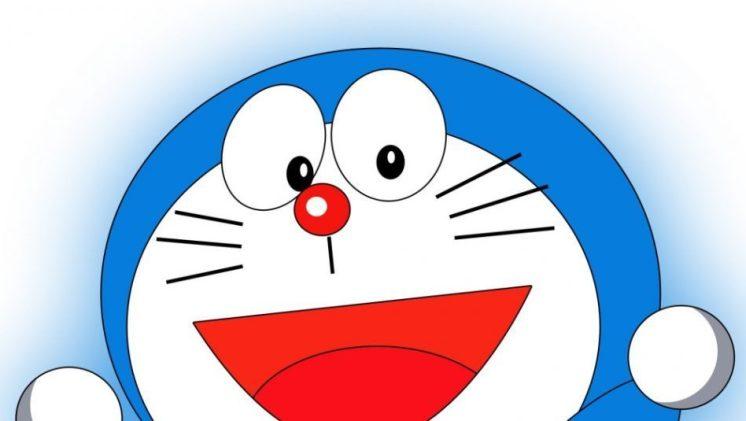 Gambar Doraemon Tertawa