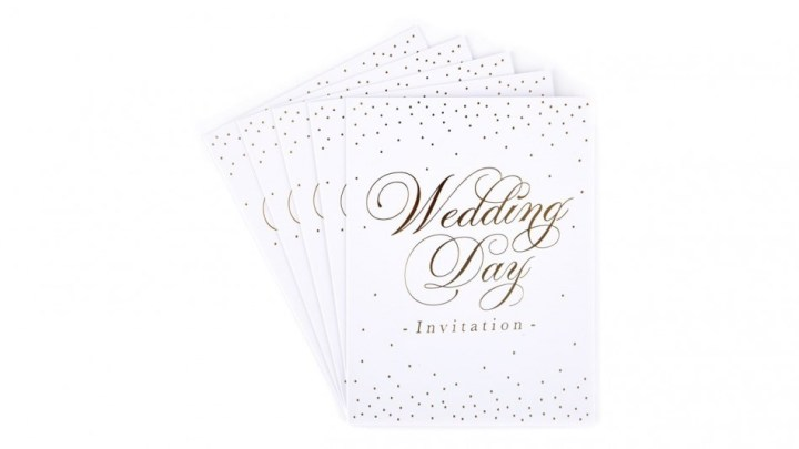 Contoh Greeting Card Wedding