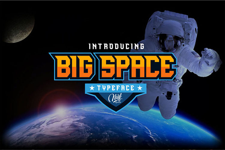 Preview image of Big Space – ESport Typeface